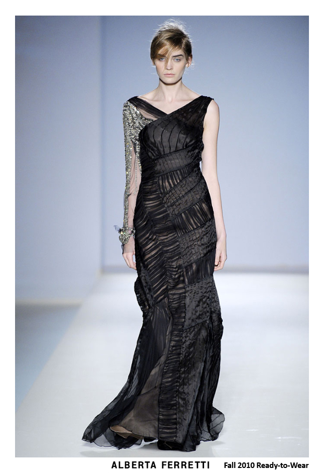 alberta ferretti fall 2010 - red carpet