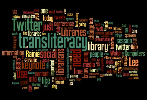 CiL2010 April 12th tweets in wordle