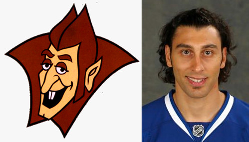 Does Roberto Luongo Look Like Count Chocula?