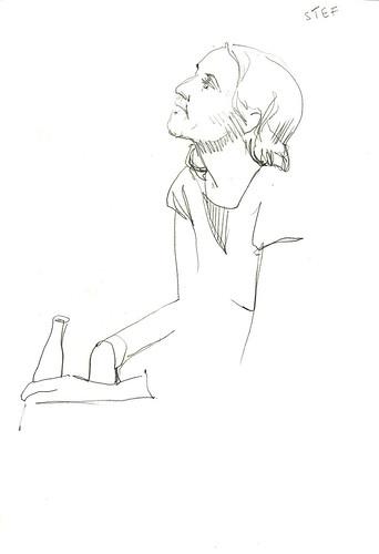 sketching Stef