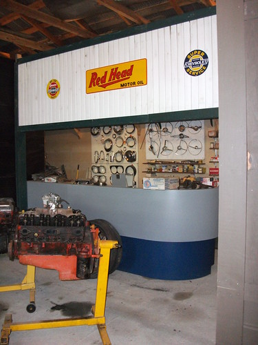 Parts counter display