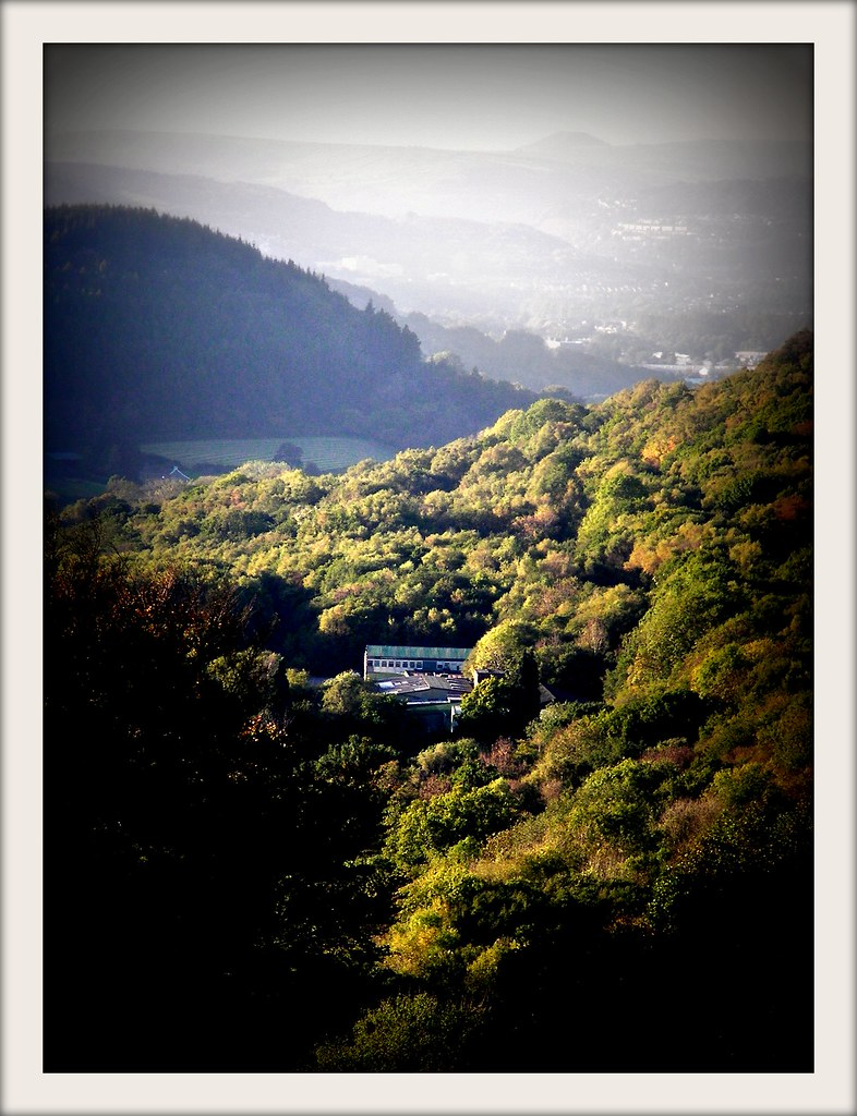Castell Coch forest walk in Autumn