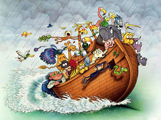 The Great Flood! God Drowns Everyone