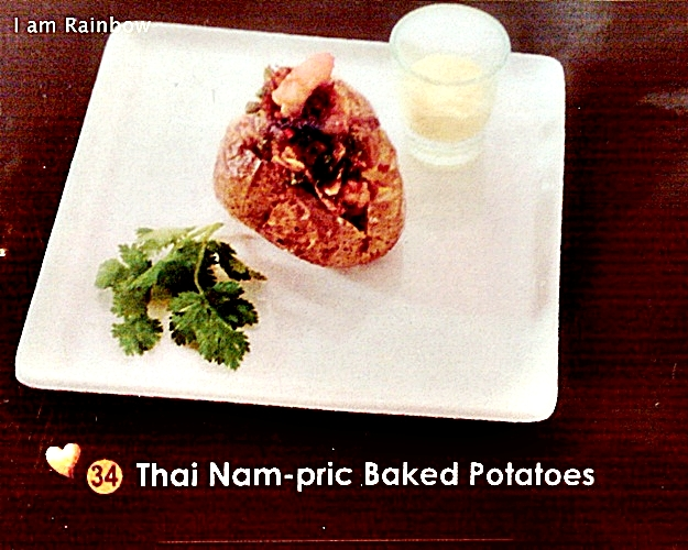 Theobroma Chocolate Thai Nam-pric Baked Potatoes menu