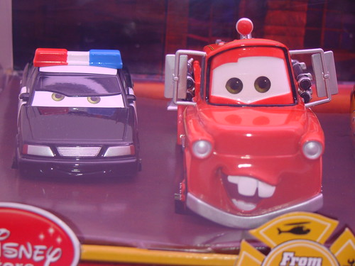 disney store CARS rescue squad mater 4 pc set (2)