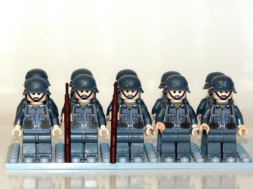 """Tropas del """"Heeres-Infanterie"""""""