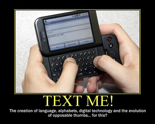 d texting texter