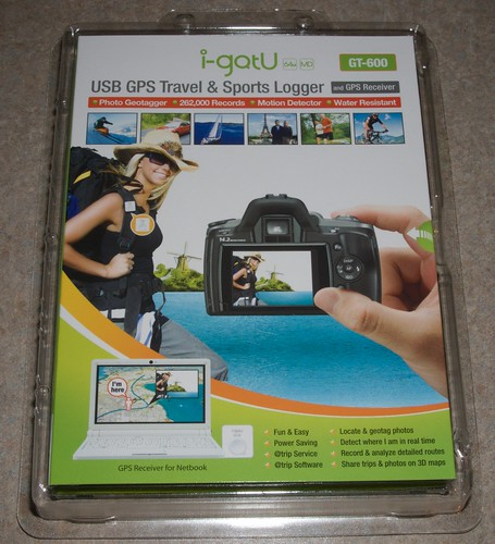 i-gotU GT-600 USB GPS Travel & Sports Logger - johnbiehler com