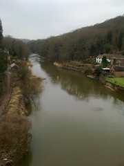 View from the Ironbridge, Telford