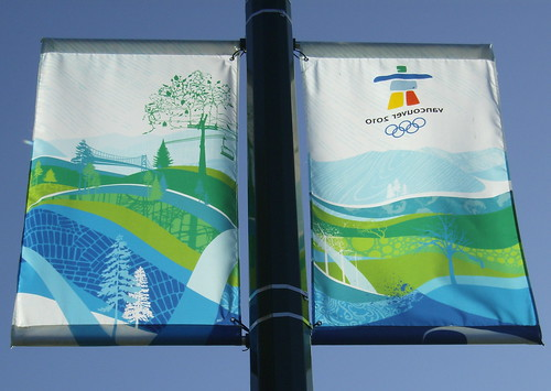 2010 VANCOUVER WINTER OLYMPICS | THE LOOK OF THE CITY :: CAMBIE HERITAGE BOULEVARD BANNERS 5
