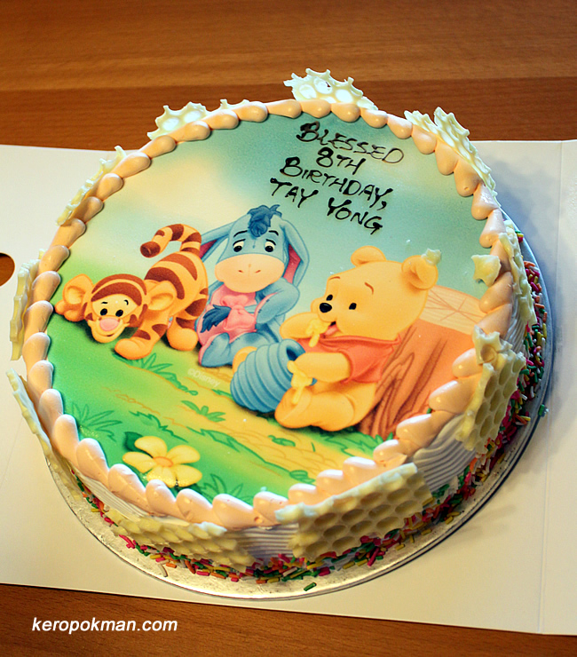 Birthday Party Swensens Ice Cream Cake Dominos Pizza