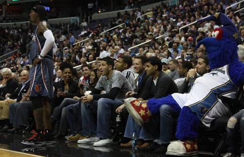 Courtside Charlotte Bobcats