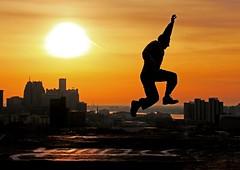 Leap...
