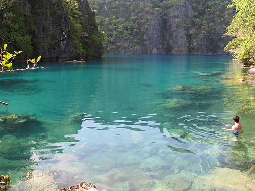 Cleanest lake in the Philippines