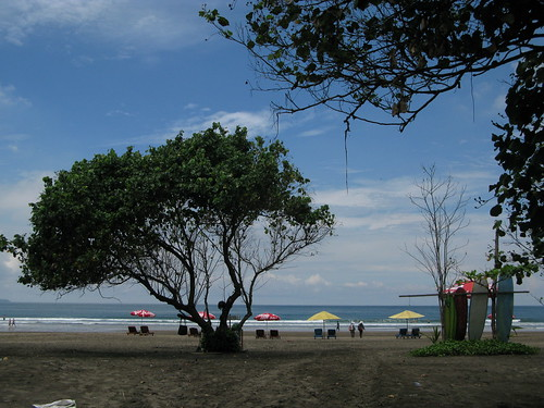 Bali's beaches set the scene for vacation romances.