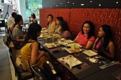 at kimono ken with elianto and beauty bloggers