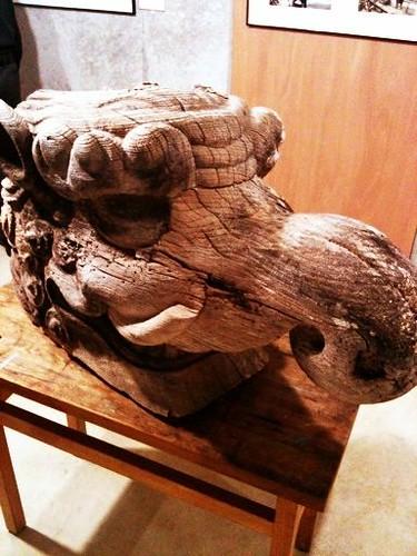 昔の本堂の木鼻