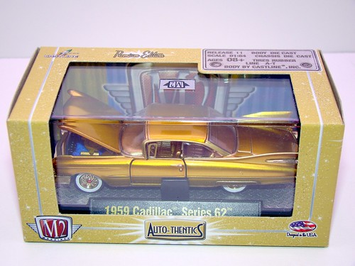 m2 gold chase 1959 cadillac series 62