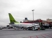 Air Baltic en Barajas