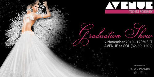 AVENUE Models Academy :: Graduation :: Nov 7 - 12pm SLT