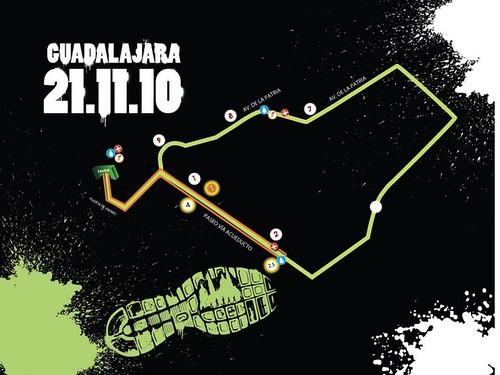 Ruta Nike Corre México Guadalajara