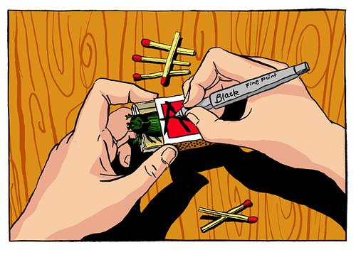 Illustration Friday: Confined