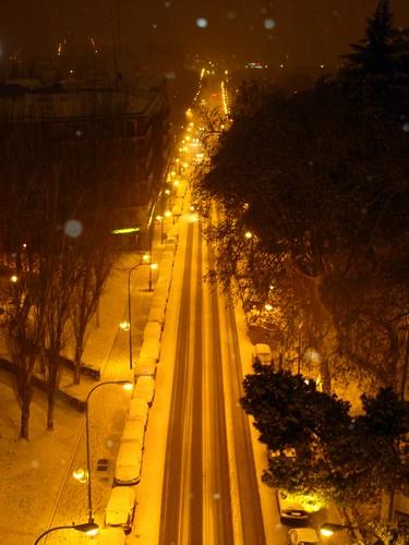 Calle Segovia desde el Viaducto