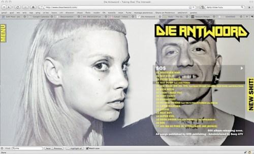 Die Antwoord - Taking Over The Interweb