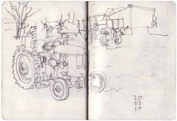 two deutz tractors
