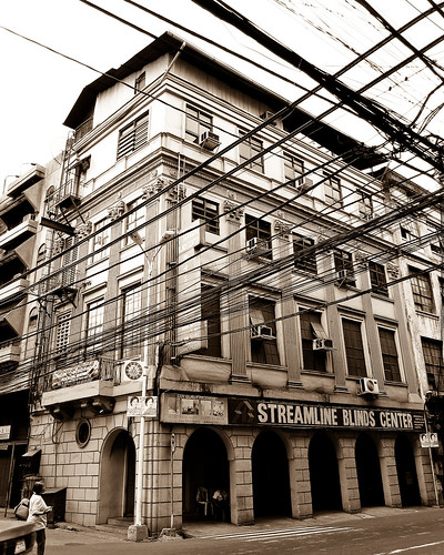 An Old Building in Binondo