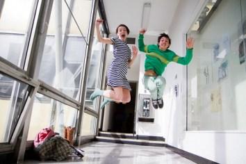 Hannah + Efraim jumpshot!!!