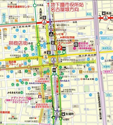 名古屋地圖