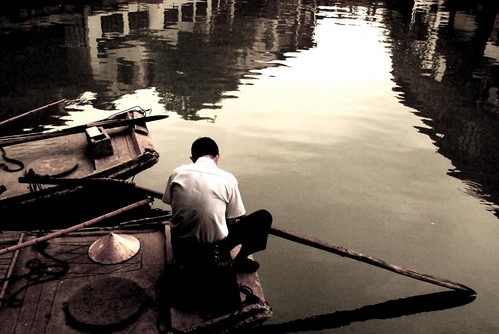 man and his boat