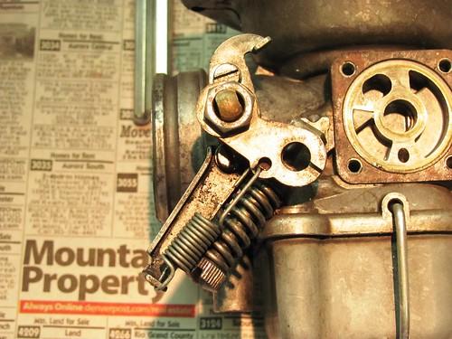Throttle Assemble Details
