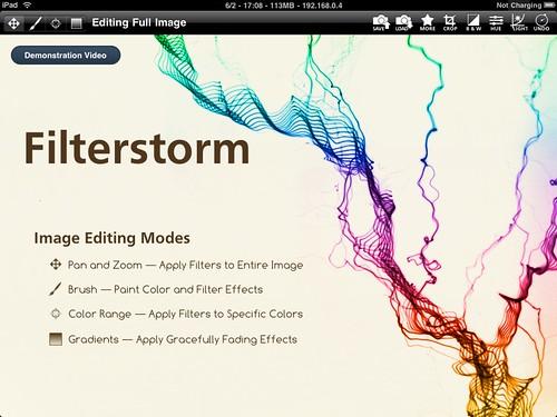 Filterstorm