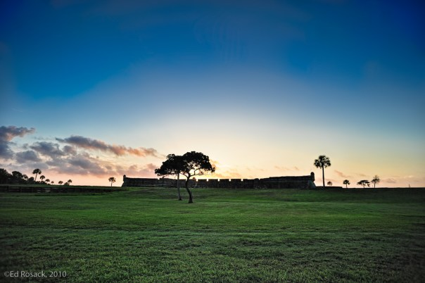 Castillo de San Marco at sunrise