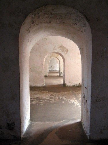 living quarters at el morro
