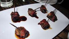 Honey-glazed Dates Wrapped in Bacon - Salt Bar