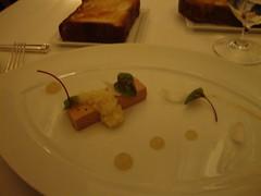 3rd Course:  Foie Gras