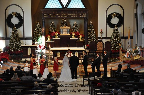 Wedding at Holy Trinity Catholic Church