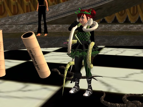 Snake Charmer at Phantasmagoria Circus