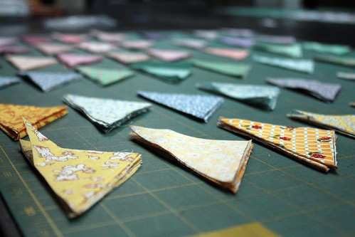 Pinwheel Quilt Pieces