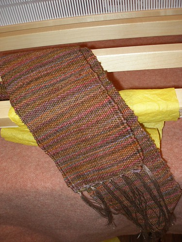 YIP 312.365 My first woven (although short) scarf