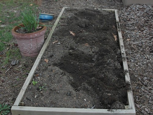 Original Garden bed reclaimed