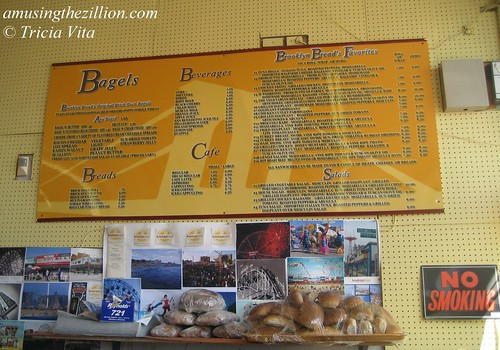 Bagels, Beverages & Brooklyn Bread's Favorites come to Coney Island.Photo © Tricia Vita//me-myself-i via flickr