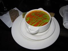 designer tomato soup