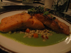 Pan-Seared Fillet of Arctic Char
