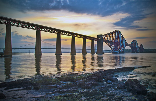 Forth Bridge Sunset June 4 2010