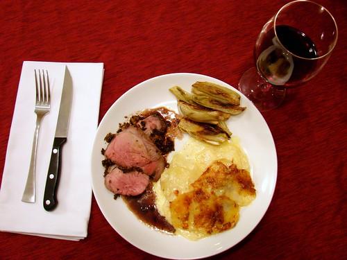 Dinner:  December 25, 2009