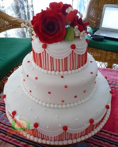 Kek Perkahwinan Fondant Cake Ideas And Designs